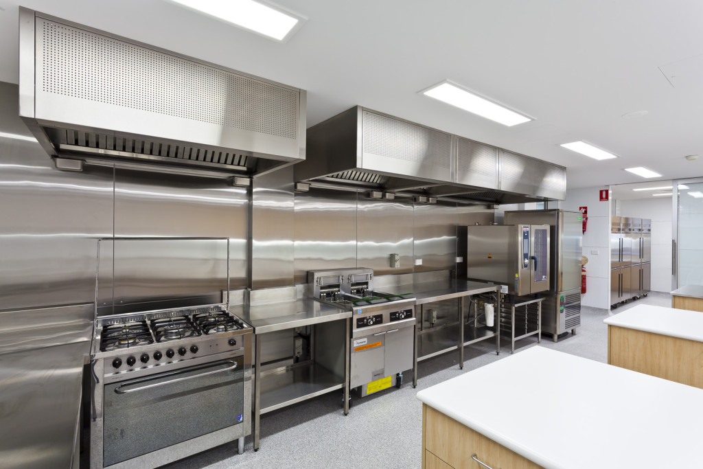 Commercial Revit Kitchen