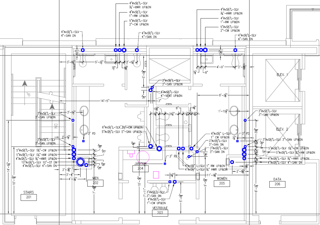 Piping Shop Drawing
